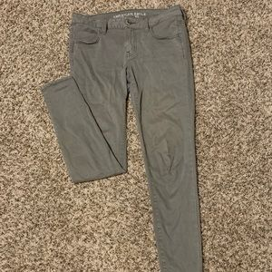 American Eagle Olive Jeans